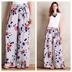 Anthropologie Elevenses Ambrosia Palazzo Pants